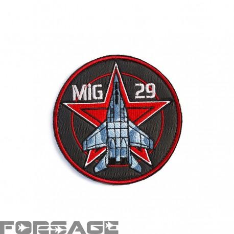 Nášivka MiG-29 červená hviezda