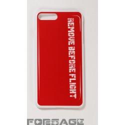 Obal na iPhone RBF červený