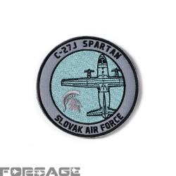 Nášivka C-27J Spartan Šedomodrá