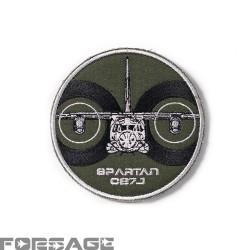 Nášivka C-27J Spartan Zelená