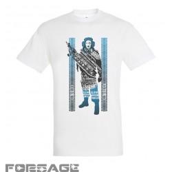 Tričko SGF biele