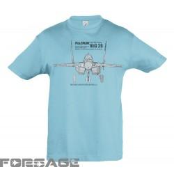 Detské Tričko MiG-29 Tech