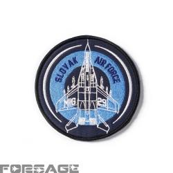 Nášivka MiG-29 Modrá