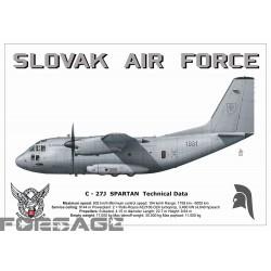 Poster A3 C-27J Spartan