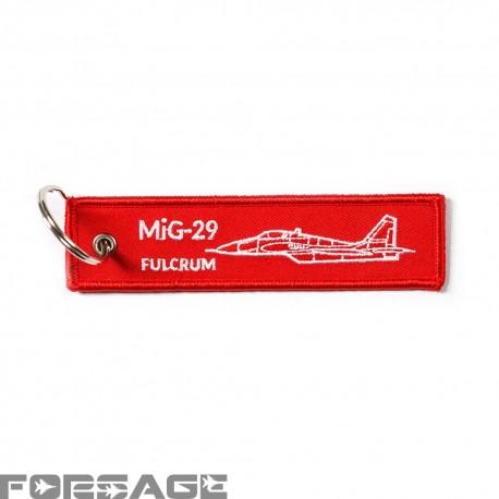 Prívesok RBF MiG-29 Červený