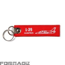 Prívesok RBF L-39 Albatros Červený
