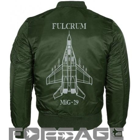 prechodná letecká bunda MiG-29