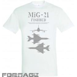 T-shirt MiG-21 tech