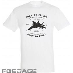 T-shirt retro MiG-29