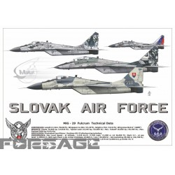 Poster A3 MiG-29 limited