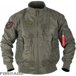 Tactical flight jacket