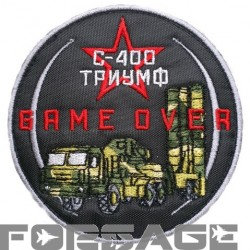 Patch S-400 GAME OVER