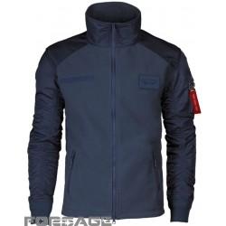 Blue fleece jacket F-16 FIGHTING FALCON