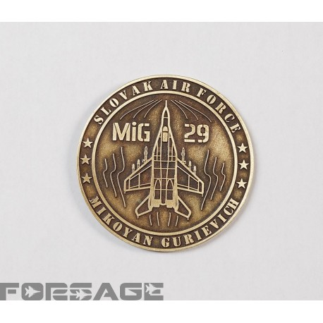 Plaketa MiG-29 kovová